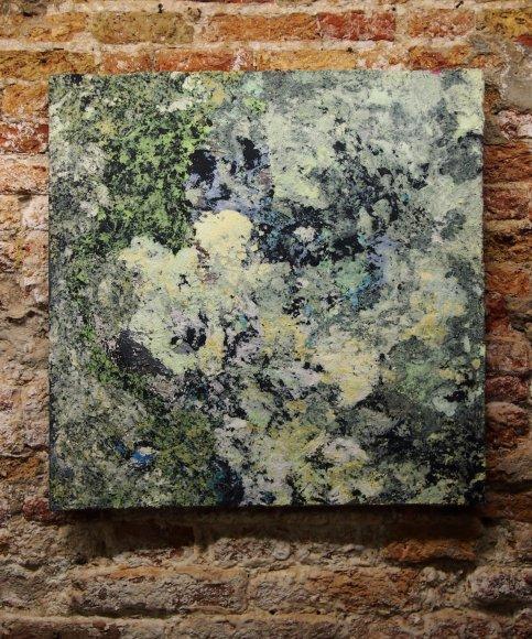 Lichen, 70 x70 cm (2017).